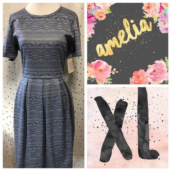 LuLaRoe Dresses & Skirts - LuLaRoe Amelia